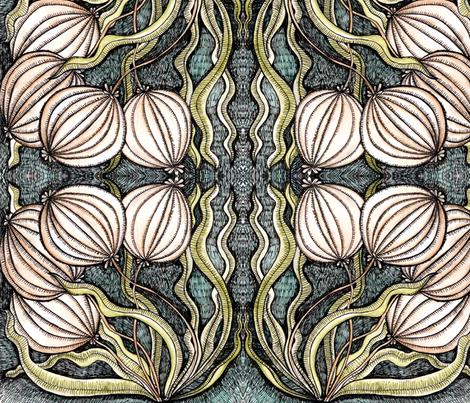 bulbs fabric by chelmers on Spoonflower - custom fabric