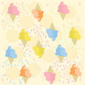 Candy Dipped cones