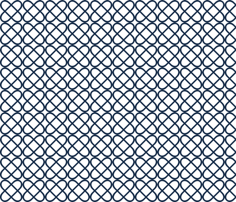 love knot fabric by amybethunephotography on Spoonflower - custom fabric