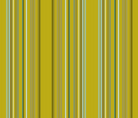 Chartreuse Striped Vanity fabric by peacoquettedesigns on Spoonflower - custom fabric
