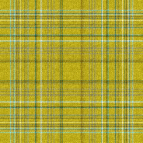 Chartreuse Mad For Plaid fabric by peacoquettedesigns on Spoonflower - custom fabric