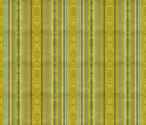 Chartreuse Striped Moire fabric by peacoquettedesigns on Spoonflower - custom fabric
