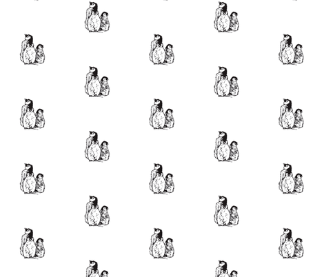 Baby Penguins fabric by woodledoo on Spoonflower - custom fabric