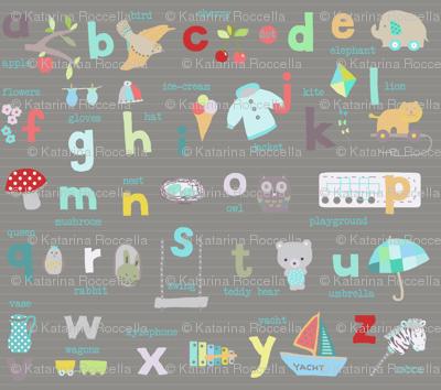 baby alphabet