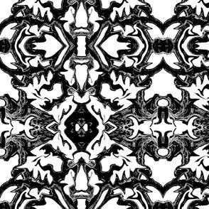 Mill Reef in Black & White