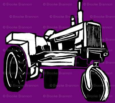 Tractor_purple