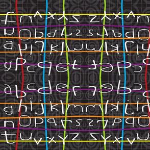 Alpha Betcha Chalkboard
