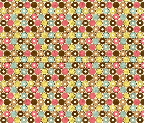 Donut fabric by lydia_meiying on Spoonflower - custom fabric