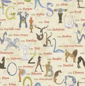 Alphabetical Beastie Compendium