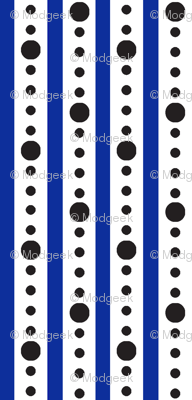 Arcade Stripe : White