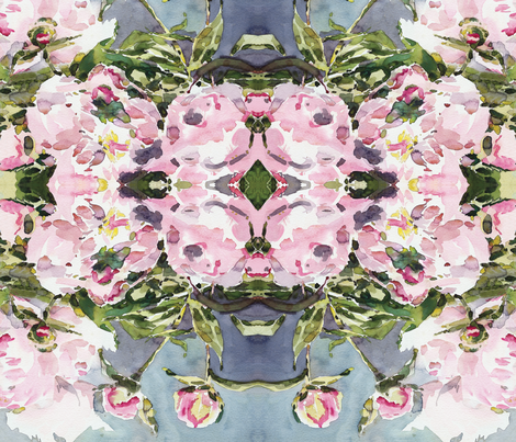 viv_PEONY42 fabric by cest_la_viv on Spoonflower - custom fabric
