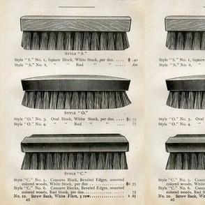 Victorian Brush Ad