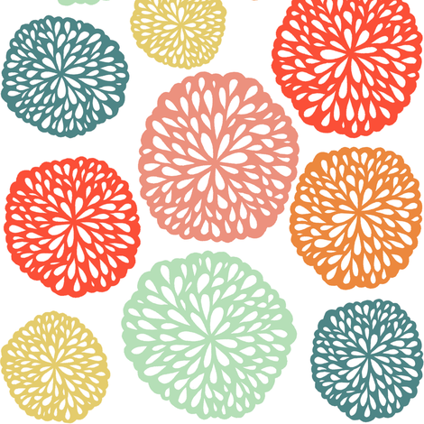 Elke - Bright fabric by elephantandrose on Spoonflower - custom fabric