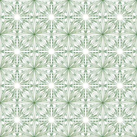 Vintage Paper Flowers fabric by kristopherk on Spoonflower - custom fabric