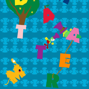 MadHatter Alphabet Pattern
