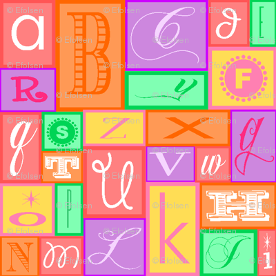 Girlie Alphabet