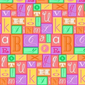 Girlie Alphabet