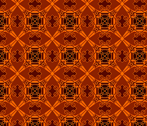 Caledonia Inlay fabric by markdd on Spoonflower - custom fabric