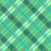 Plaid, Blue, Green, Red