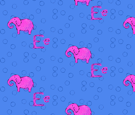 pinkEelefant fabric by rustypolo on Spoonflower - custom fabric