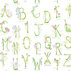 Botanical Alphabet