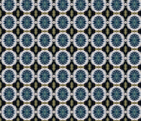 Ocean Blues Pattern - Debra Cortese Designs fabric by debracortesedesigns on Spoonflower - custom fabric