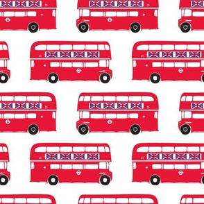 Red London Buses-Large