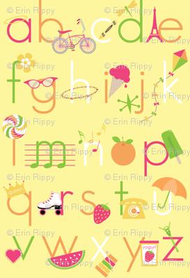 Summer Days Alphabet