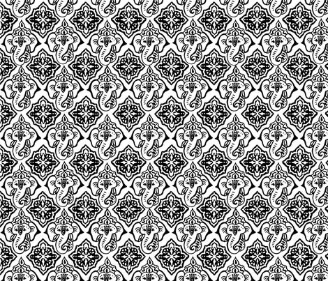 EleBoo Main fabric by elephant_booty_studio on Spoonflower - custom fabric