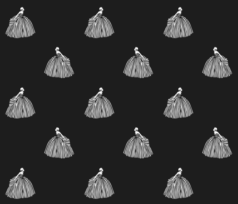 The Striped Dress fabric by kissysuzuki on Spoonflower - custom fabric