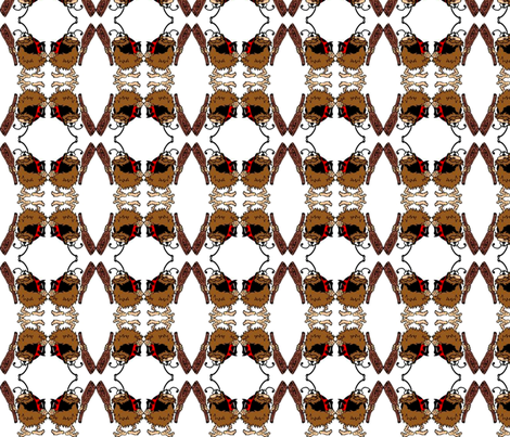 cavebug-ed fabric by miss_tamara on Spoonflower - custom fabric
