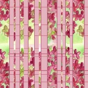 Hydrangea Plaid
