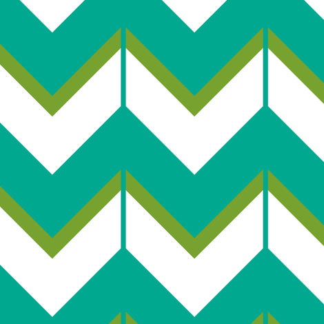 Turquoise Afghan fabric by fleamarkettrixie on Spoonflower - custom fabric