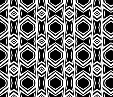 Mod Mix 16 fabric by fleamarkettrixie on Spoonflower - custom fabric