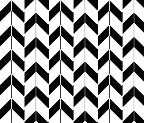 Black Hill fabric by fleamarkettrixie on Spoonflower - custom fabric