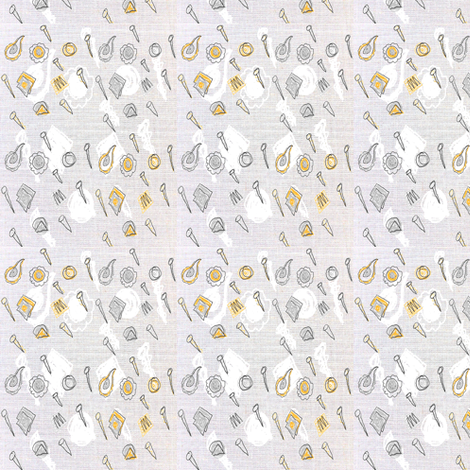 SwirlScribbleHairTreatmentCOMP fabric by kkitwana on Spoonflower - custom fabric