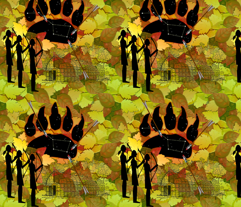 © 2011  How the leaves get their colors fabric by glimmericks on Spoonflower - custom fabric