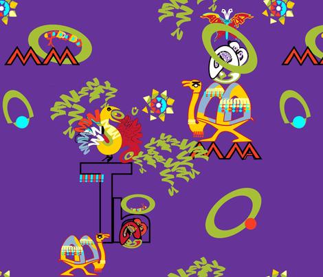 Speaking Mama Tongue fabric by kantakaa on Spoonflower - custom fabric
