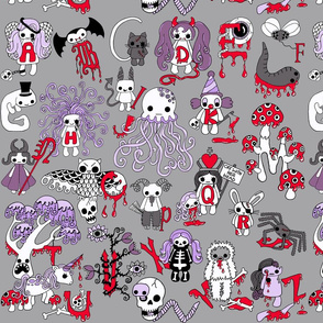 Creepy Cute Alphabet