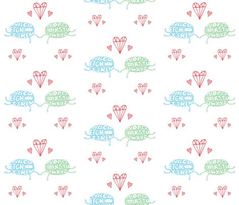 alpha_beth fabric by sarahmachicado on Spoonflower - custom fabric