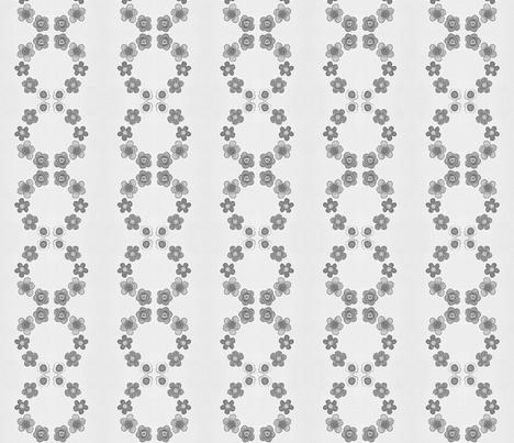 firoifiorifiò bw fabric by mimi&me on Spoonflower - custom fabric