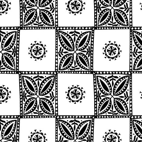 Tree Tapa fabric by spellstone on Spoonflower - custom fabric