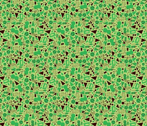 Mint Chocolate Chip fabric by acbeilke on Spoonflower - custom fabric