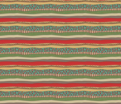Xmas stripes fabric by catru on Spoonflower - custom fabric