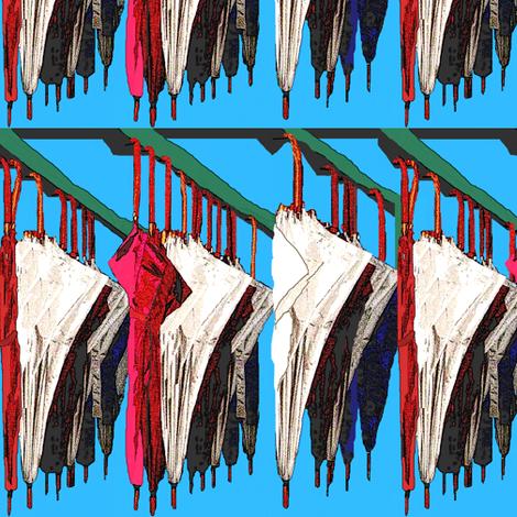 Waiting fabric by robin_rice on Spoonflower - custom fabric