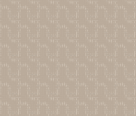 Beige and Sand Twigs © 2009 Gingezel™ Inc. fabric by gingezel on Spoonflower - custom fabric