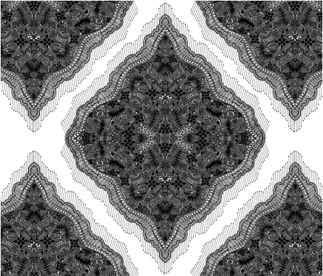 Lace fabric by leanngleanng on Spoonflower - custom fabric