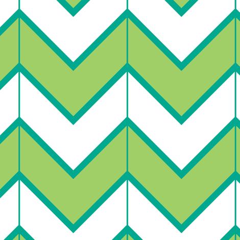 green mountain  fabric by fleamarkettrixie on Spoonflower - custom fabric