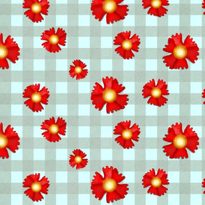 Carnation fabric