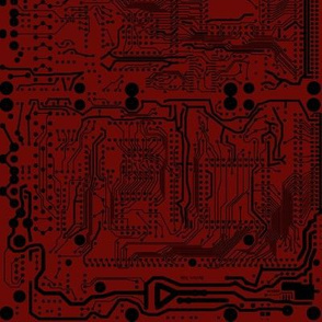 Mirror Circuit - Red and Black